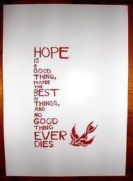 The Shawshank Redemption quote