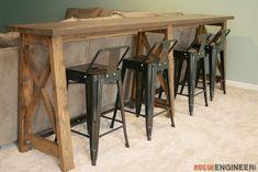 Bar Top Console Table » Rogue EngineerBar Top Console Table » Rogue Engineer