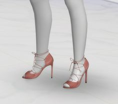 Sandals at GreenApple18r via Sims 4 Updates