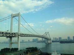 Rainbow Bridge #Tokyo #Japan