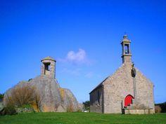 La chapelle Pol de Brignogan-Plages, dans le Finistère, en Bretagne.