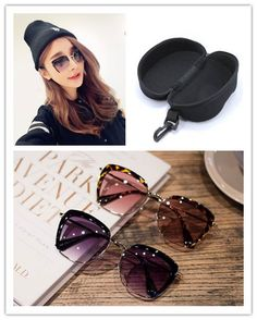 Gradient Sunglasses Women New 2015 Retro Eyebrow Summer Style Gafas Oculos De Sol Feminino Half frame Vintage With Box - http://www.aliexpress.com/item/Gradient-Sunglasses-Women-New-2015-Retro-Eyebrow-Summer-Style-Gafas-Oculos-De-Sol-Feminino-Half-frame-Vintage-With-Box/32394036478.html