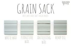 Grain Sack Finishes #MMSMP #mmsmilkpaint More colors at thegoldensycamore.com