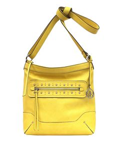 Love this Buttercup Camellia Crossbody Bag by Jessica Simpson Collection on #zulily! #zulilyfinds