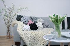 Knot Pillow Trend - DIY Knot Pillow on Pinterest
