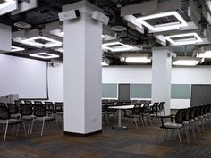 Birchwood Lighting specialists in linear fluorescent and LED fixtures. KELSEY is a square architectural linear luminaire utilizing fluorescent and LED lamping. Extruded Aluminum, Toronto Canada, Erika, Hospitality, Modern Design, Surface, Retail, Profile, Ceiling