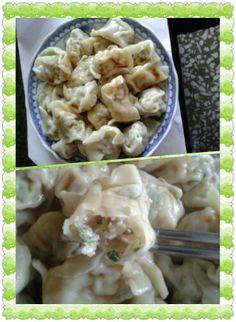 好吃台灣水餃( boiled dumpling)。