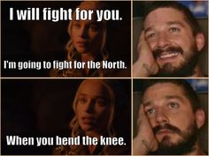 """When you're like """"oh finally Dany understands what the hell is actually going on"""" but then you're like """"c'mon man"""""""