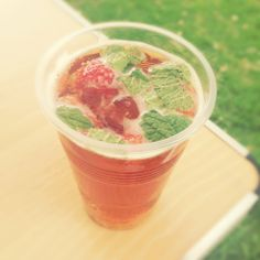 Pimms and afternoon tea x
