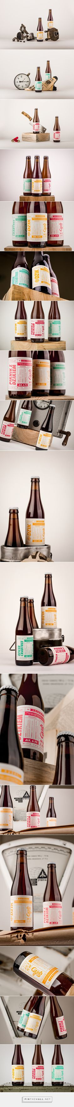 Gzub Craft Brewery - Beer Design by Redkroft