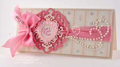 Pretty Bling card#Papercrafts