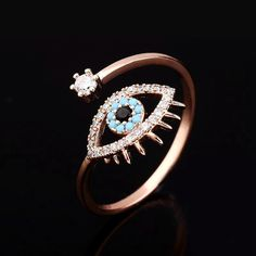The most extensive of engagement traditions is the groom providing his bride-to-be to be with a ring. The majority of often, the engagement ring is a diamond ring. Nevertheless, diamonds are not the only jewels utilized in engagement rings. Bagan, Hamsa Jewelry, Jewelry Gifts, Unique Jewelry, Evil Eye Ring, Diamond Anniversary Rings, Cubic Zirconia Rings, Rose Gold Color, Blue Rings