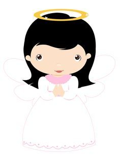 Cute Little Angel Large Size PNG Clipart | angel ...