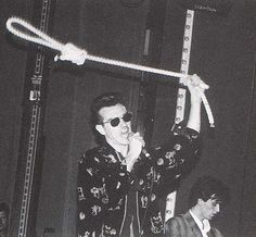 Morrissey and Johnny Marr: The Smiths live at The Palladium, London, England on October 26, 1986.