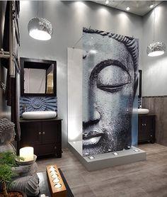 Buddha Bathroom