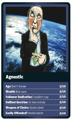 God Trumps Agnostic Card
