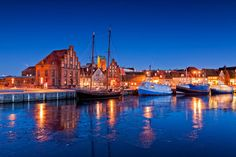 City of Wismar, Germany Wismar Germany, Bucket List Destinations, Baltic Sea, World Heritage Sites, Beautiful Landscapes, New York Skyline, Places To Visit, To Go, Around The Worlds