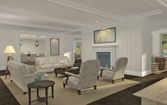 43 Middle Lane, East Hampton - Living Room