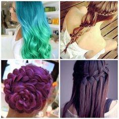Penteados Originais - Perfeita Dreadlocks, Hair Styles, Beauty, The Originals, Up Dos, Whoville Hair, Pith Perfect, Hair Plait Styles, Dreads