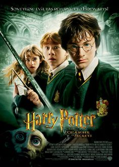 Harry Potter and the Chamber of Secrets. Going to watch this this week. Feb. 2016.