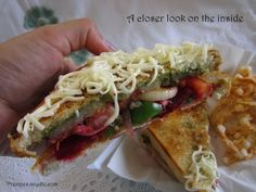 Bombay Sandwich Recipe with Step-by-Step Pictures
