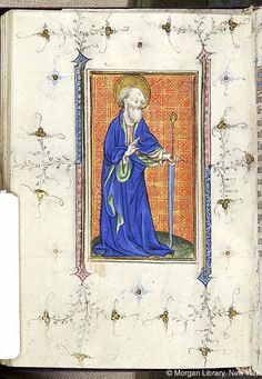 Book of Hours, MS M.866 fol. 117v - Images from Medieval and Renaissance Manuscripts - The Morgan Library & Museum