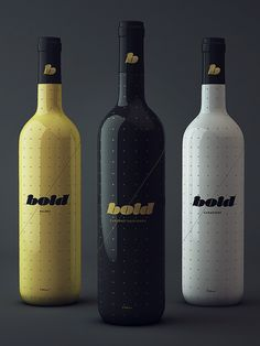 Bold® Wine Collection on Behance