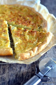 A conventional leek pie with Picard accents, in any other case known as … Savory Pastry, Savory Tart, Food In French, Leek Tart, High Tea, Food Inspiration, Love Food, Quiches, Omelettes