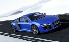 Grande Finale: Audi presenteert R8 LMX met laserlicht