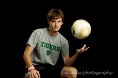senior portraits soccer sports Muncie Photography