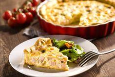Quiche Lorraine se šunkou Selection - Jak na velké věci Quiche Lorraine, Mashed Potatoes, Ethnic Recipes, Food, Basket, Whipped Potatoes, Smash Potatoes, Essen, Meals