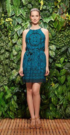 Só na Antix Store você encontra Vestido Faixa Bicolor Rendado com exclusividade na internet