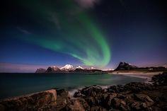 Night in January Beautiful Sky, Aurora Borealis, Northern Lights, Nature, Sunset, Explore, Night, Gallery, Heavenly