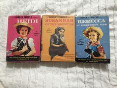 1930s-40s SHIRLEY TEMPLE EDITION OF HEIDI - Susannah - Rebecca