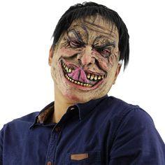 Grey Killer Wolf #Adult Full Face Rubber Horror Masks Fancy Dress Halloween