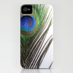 Peacock Feather iPhone Case