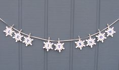 Creating with Joy: Let It Snow Garland
