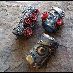 New dreadlocks bead set !  One of a kind wearable art.