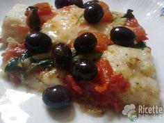 Ricetta Filetti di Persico con Pomodorini al Vino Bianco