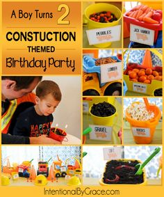 Constuction Themed Birthday Party - Intentional By Grace