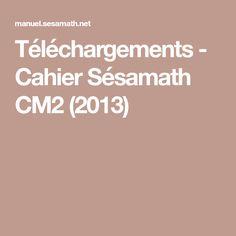 Téléchargements - Cahier Sésamath CM2 (2013)