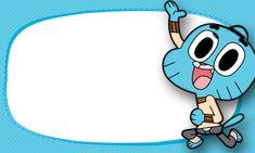 Etiqueta Escolar O Incrivel Mundo de Gumball 9 Amazing Gumball, Paw Patrol Cake, Cartoon Posters, World Of Gumball, Darwin, Toy Story, Cartoon Network, Strong Women, Smurfs