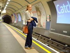 Solitude  #PhotoLanda #UK #london #subway #tube #metro Solitude, Tube, London, Explore, London England, Exploring