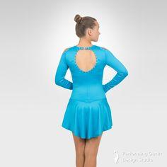Jazzy figure skating long sleeve dress - Performing Outfit Design Studio Store Gymnastics Outfits, Gymnastics Leotards, Latin Ballroom Dresses, Ice Skating Dresses, Figure Skating, Dance Costumes, Skate, Studio, Long Sleeve