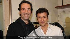 Tony Carreira com Juca