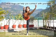 How Yoga can help you connect with yourself! Find out more about yoga and including it in your daily routine! Normal Life, Self Love, Routine, Connection, Yoga, Canning, Self Esteem, Yoga Tips, Home Canning