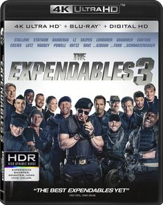 Amazon.com: Expendables 3 [4K Ultra HD + Blu-ray + Digital HD]: Sylvester Stallone, Jason Statham, Antonio Banderas, Jet Li, Wesley Snipes, Dolph Lundgren, Kelsey Grammer, Randy Couture, Terry Crews, Mel Gibson, Harrison Ford, Arnold Schwarzenegger, Kellan Lutz, Ronda Rousey, Glen Powell, Victor Ortiz, Robert Da, Patrick Hughes: Movies & TV