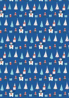 Ioana Luiza - Christmas Wrapping paper Design