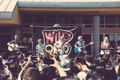 Thanks @Wild949 and Evergreen Valley Highschool! #SometimeLastNightTour