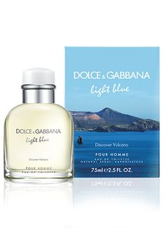 Dolce  Gabbana Light Blue - DISCOVER VULCANO  The fragrance opens with Intense top notes of Italian Lemon and Ginger. At the heart of the fragrance we find the grassy softness of Cypress and Lavender. The base notes harmoniously blend Haitian Vetiver, Cedar Wood, and the musky-amber scent of Ambrox.